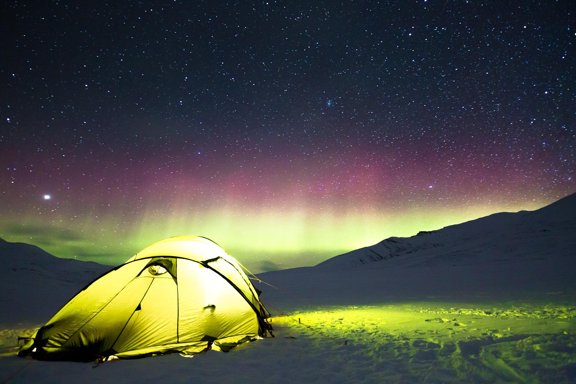 Camping en hiver : et si vous osiez ?