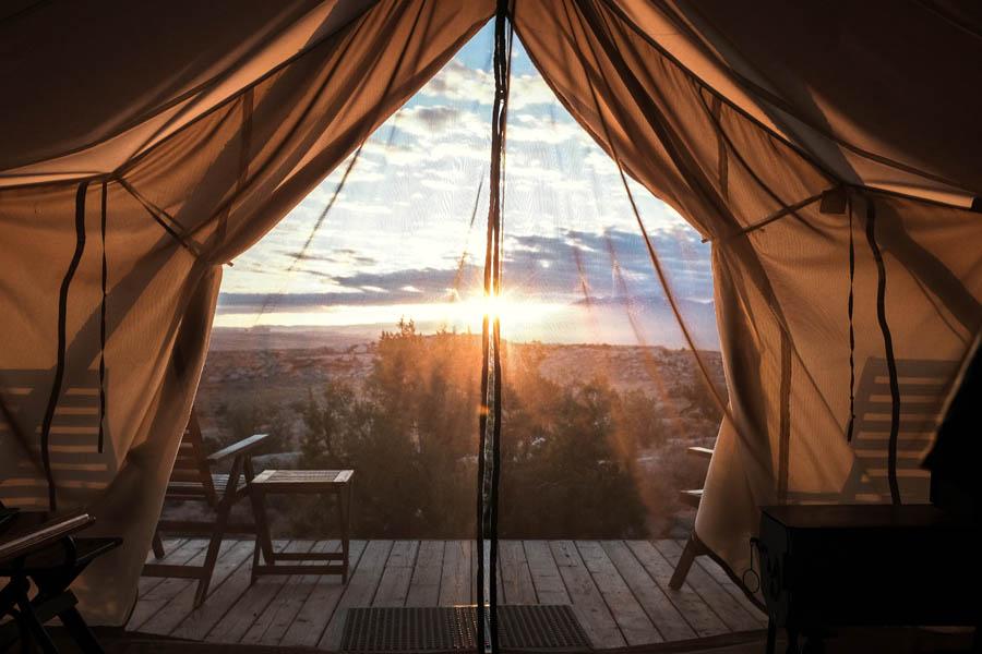 Tente de camping : tour d'horizon des nouvelles toiles de tente !