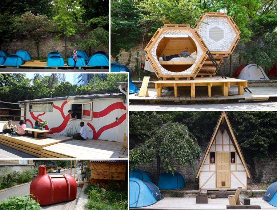camping urbain