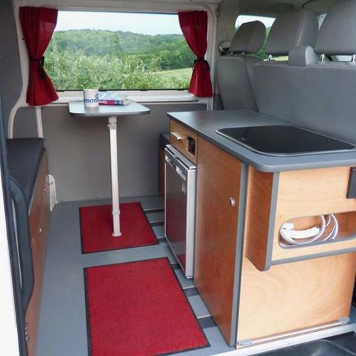am nagement de van quelle cuisine pour mon van 3 4. Black Bedroom Furniture Sets. Home Design Ideas