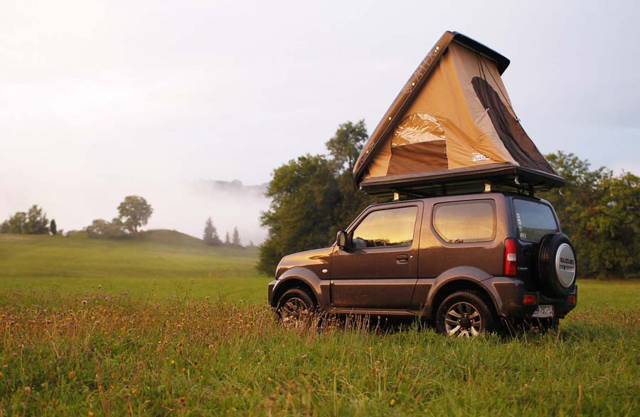 Tente de toit pour voyageurs nomades : optez pour NaïtUp