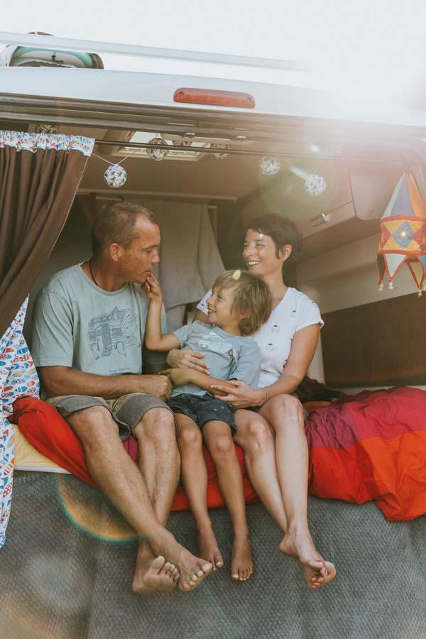 voyage en van en famille