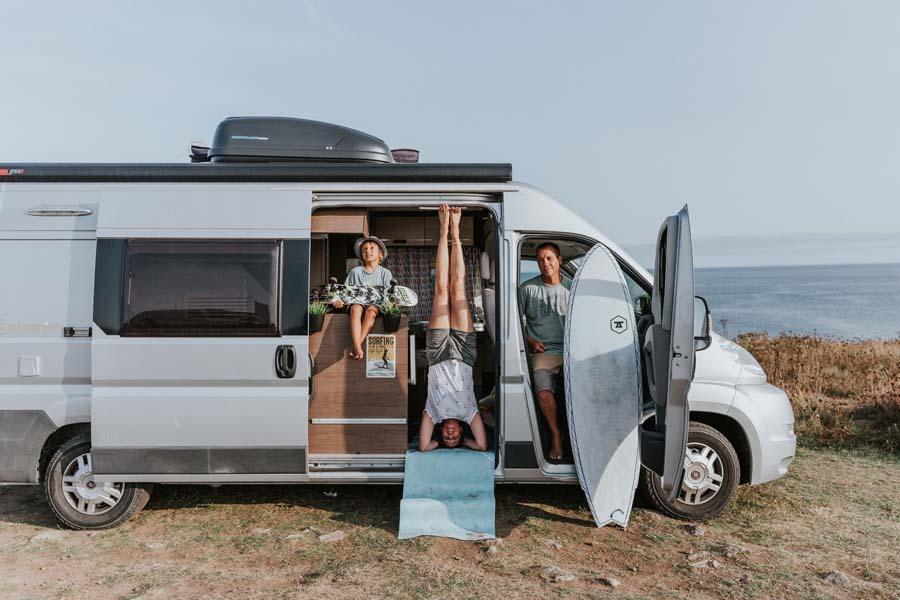voyager en van en famille