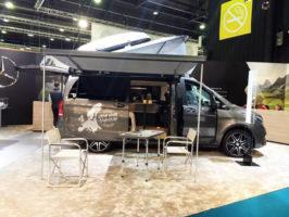 Retour sur le salon du Bourget 2018 : le van était présent !