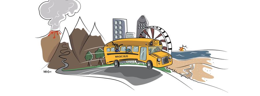 Bus aménagé : découvrez MagicBus, l'auberge de jeunesse itinérante !