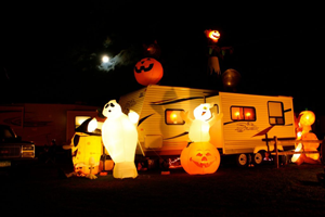 décorer son véhicule pour Halloween