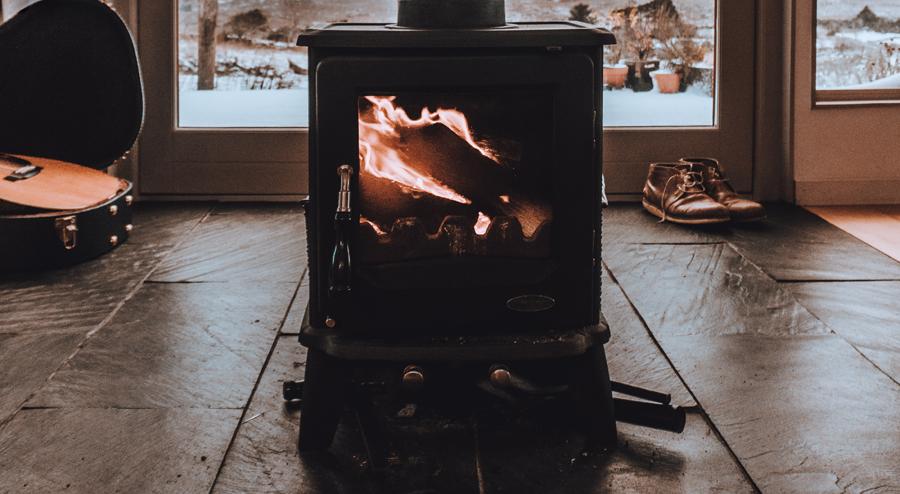 chauffage van hiver