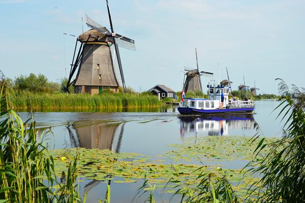 road-trip en van aux Pays-bas