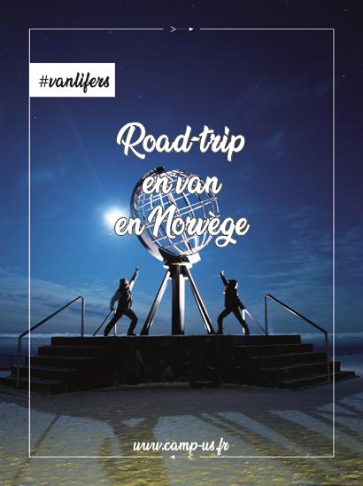 road-trip en van en norvège