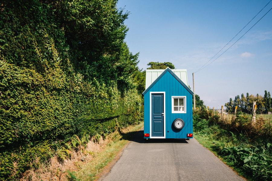 la micro-maison roulante