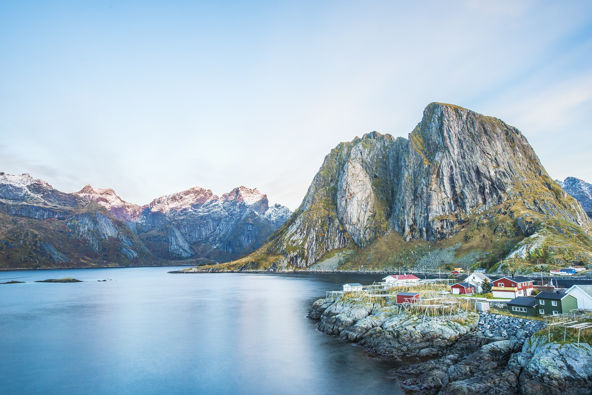 voyager en Norvège en ferry avec son campervan