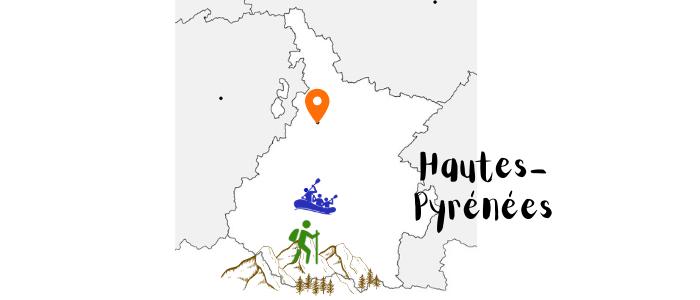 Hautes-Pyrénées en France