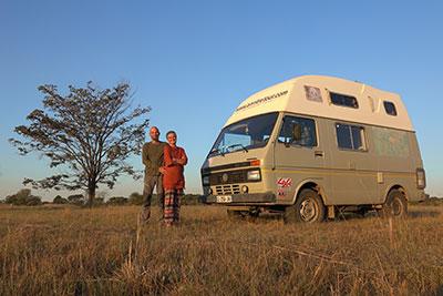 tour du monde en Volkswagen en Afrique du Sud