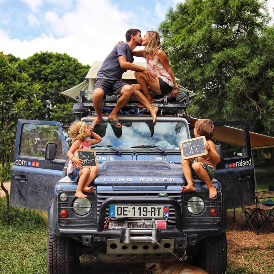 vanlifers #4 : Raised on the road, une famille nomade sur les routes