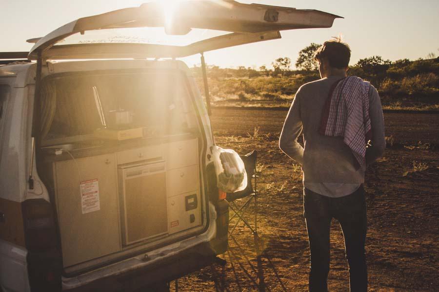 dormir dans son van