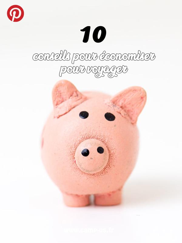économiser pour voyager