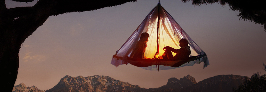 lieux atypiques pour planter sa tente