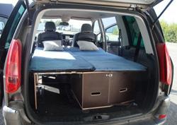 transformer sa voiture en camping-car