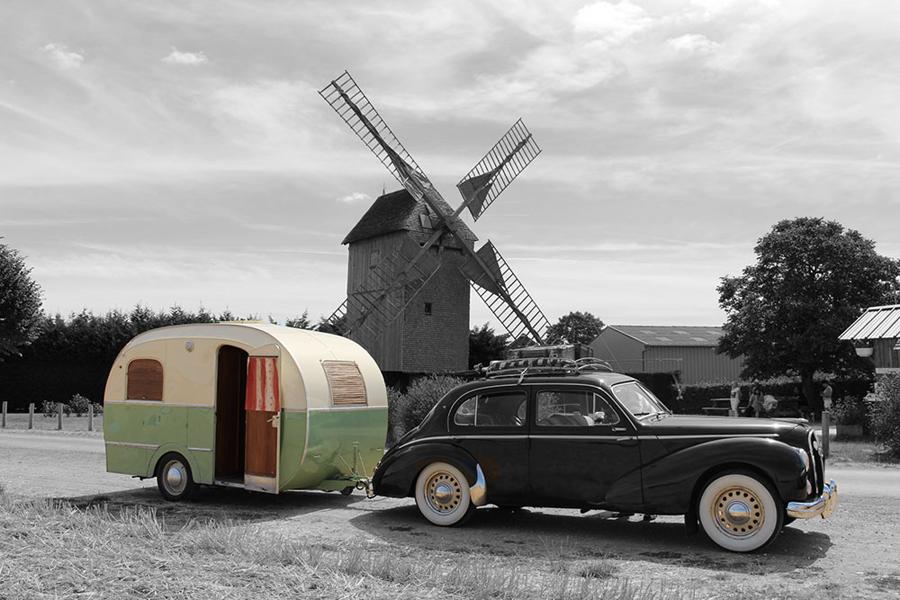 histoire du camping