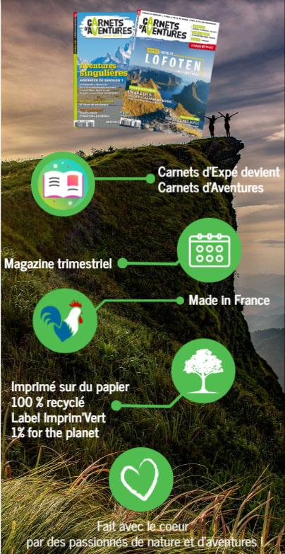 carnets d'aventures et de voyages sportifs