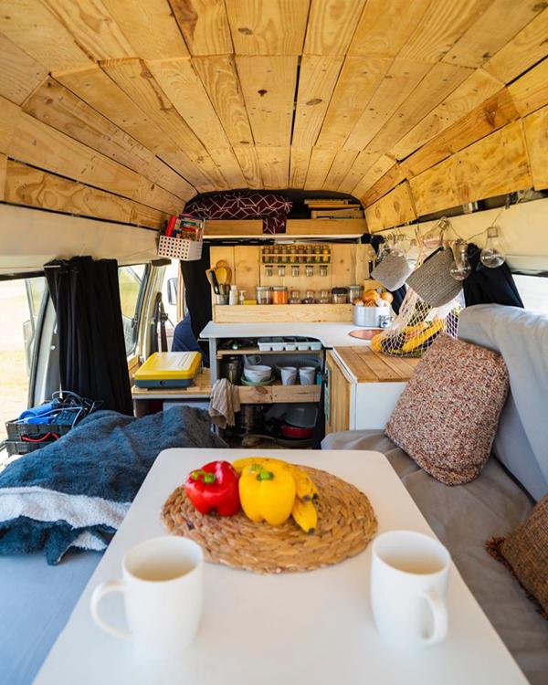 aménagement de van pour documentaire