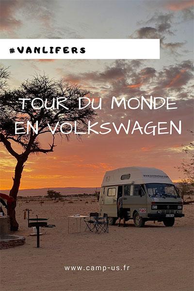 tour du monde en Volkswagen