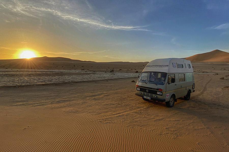 tour du monde en Volkswagen LT35