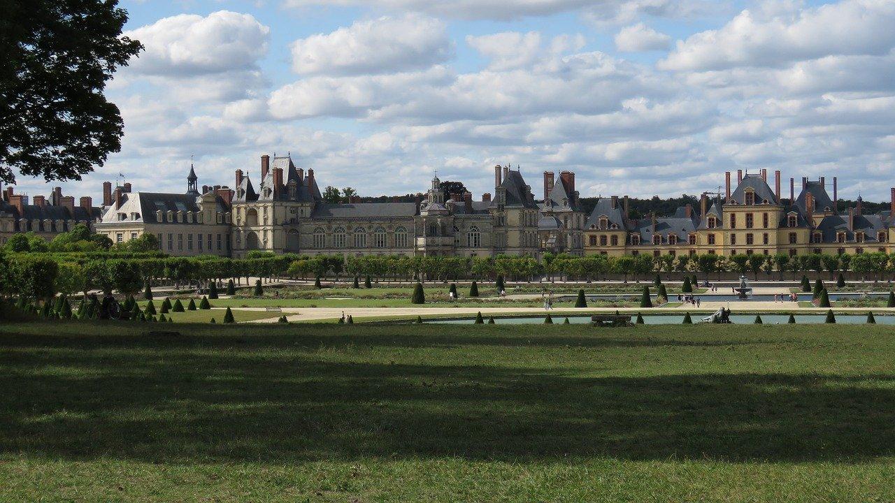 Fontainebleau en France