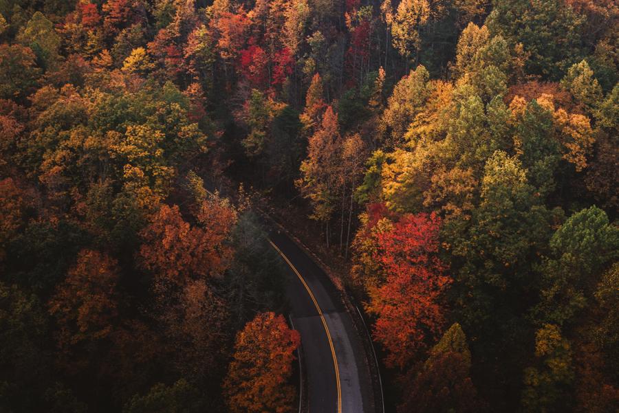road-trip en automne en France