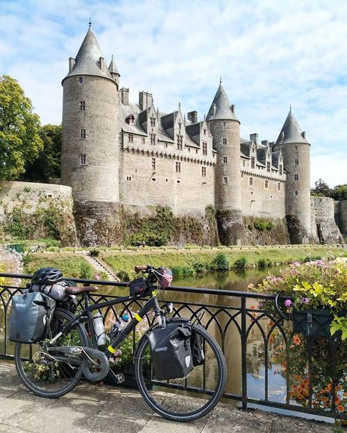 itinéraire en vélo en France