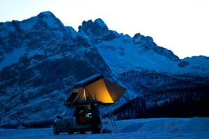 Tente de toit pour voiture : la tente familiale de Naït'Up