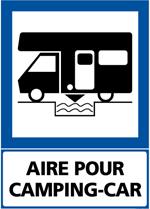 aire de service camping-car à la montagne