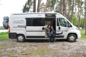 Vanlife et running en Europe avec les Run Trotters
