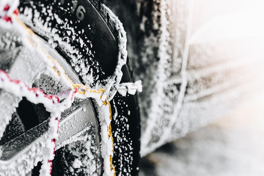 pneu neige pour l'hiver