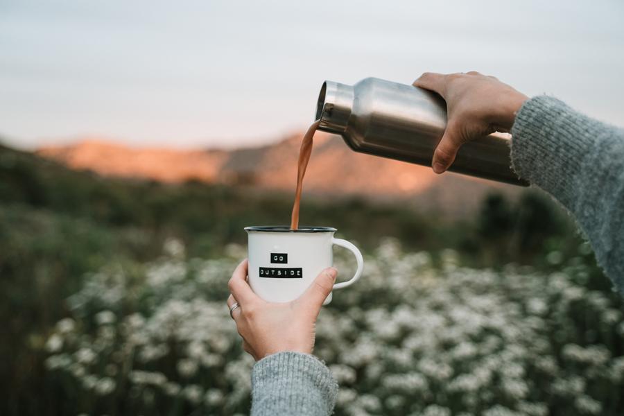 café en camping