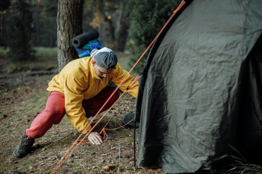 bien s'habiller pour dormir sous une tente