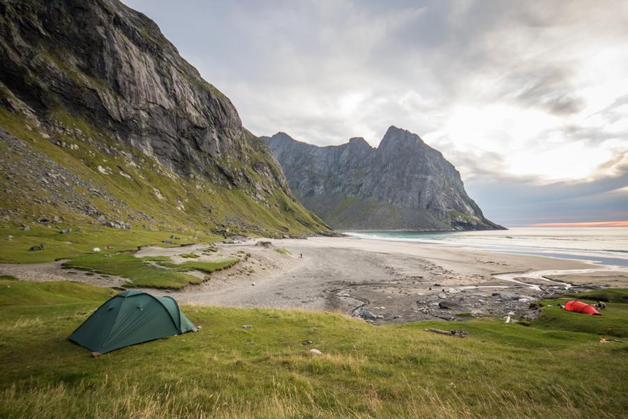 installation et isolation de la tente