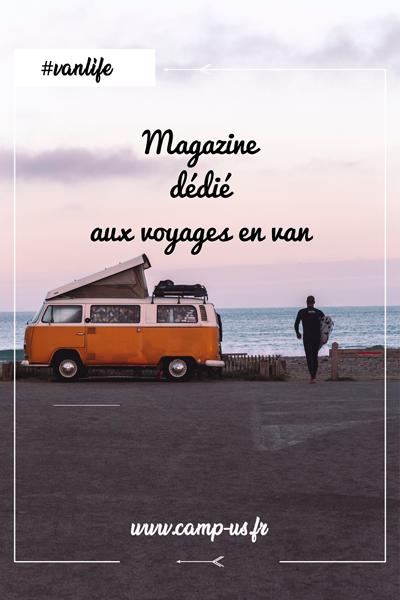 magazine dédié aux voyages en van