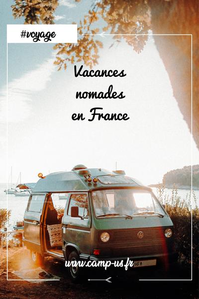 Vacances nomades en France