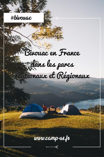 bivouac en France